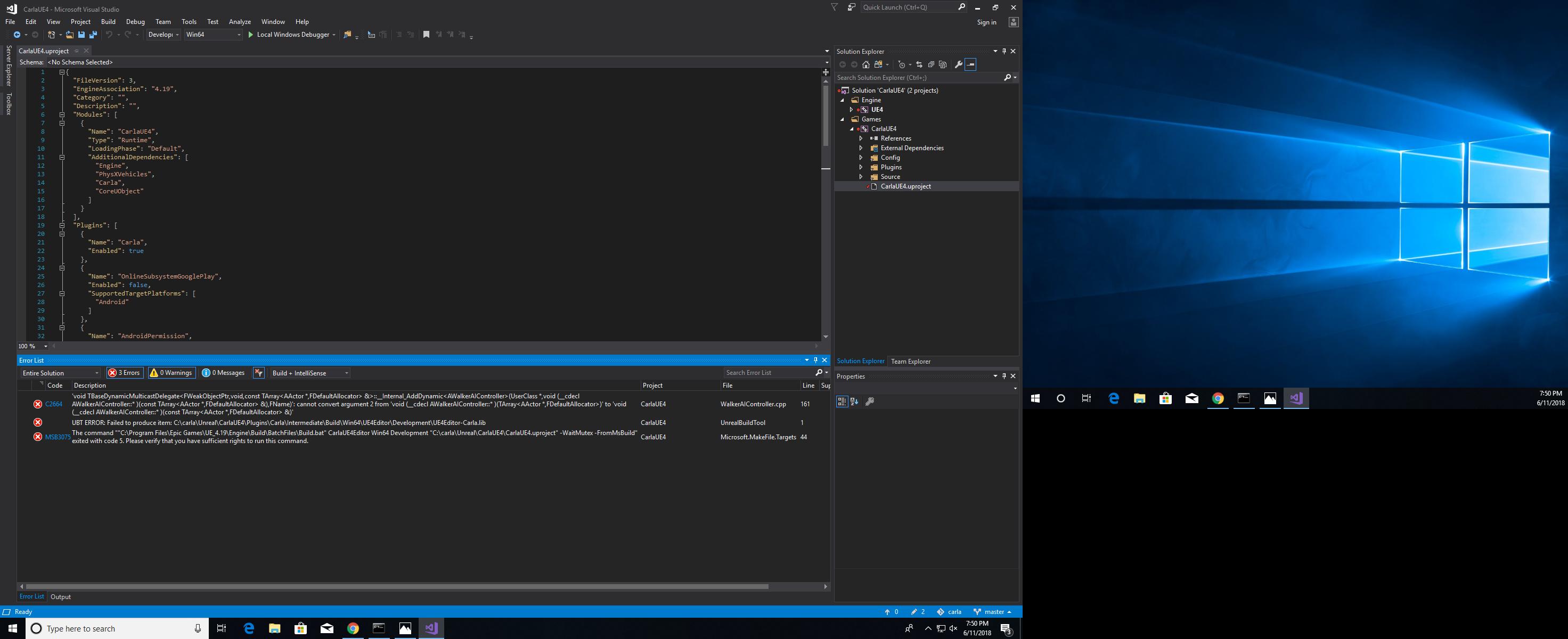 Building on Windows 0 8 X · Issue #21 · carla-simulator