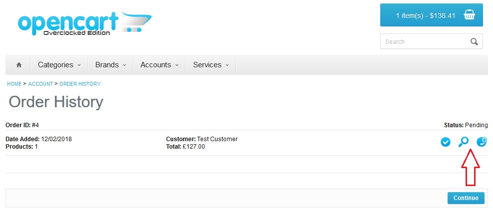 Download PDF Invoice For Customers Issue Villagedefrance - Opencart invoice