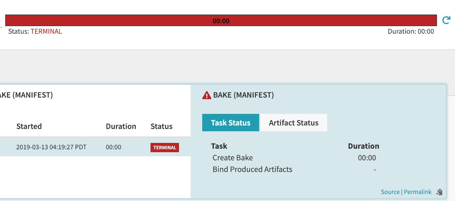 Bake Manifest Error when using webhook · Issue #4110 · spinnaker