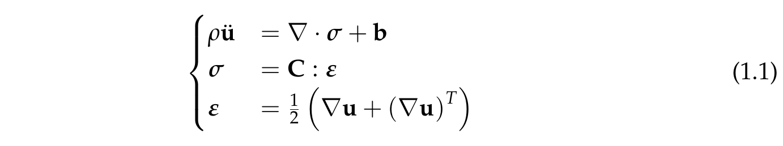 Field equation