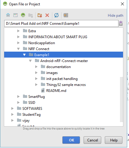 Not Opening in Android Studio · Issue #53 · NordicSemiconductor