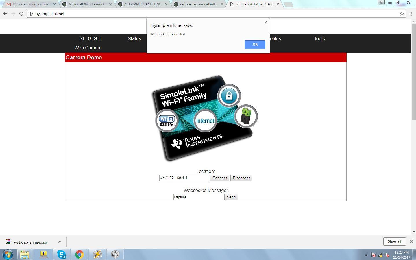 ArduCam Mini not working · Issue #1 · ArduCAM/Arduino · GitHub