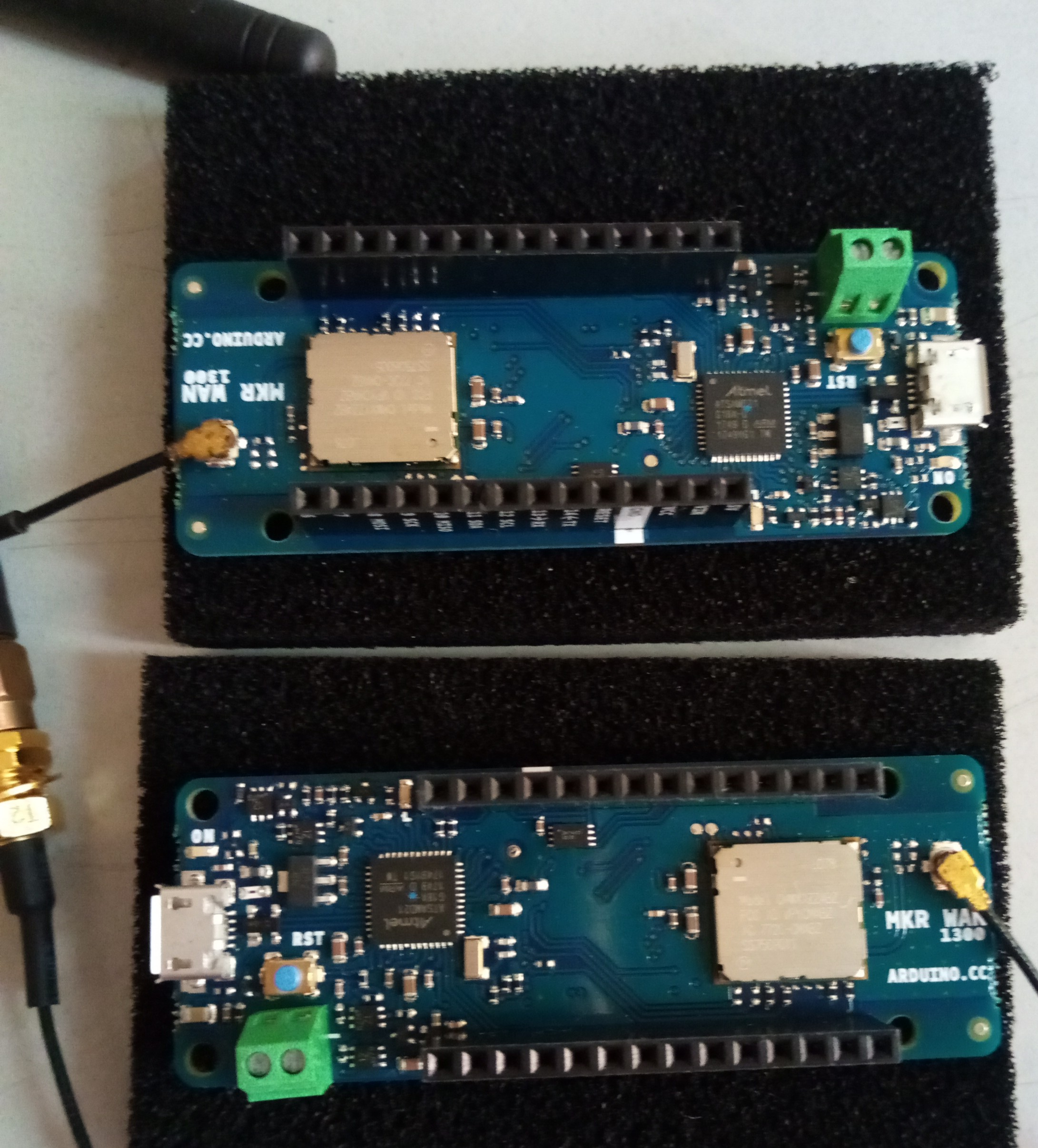 How to p2p btw two MKRWAN boards ? · Issue #23 · arduino