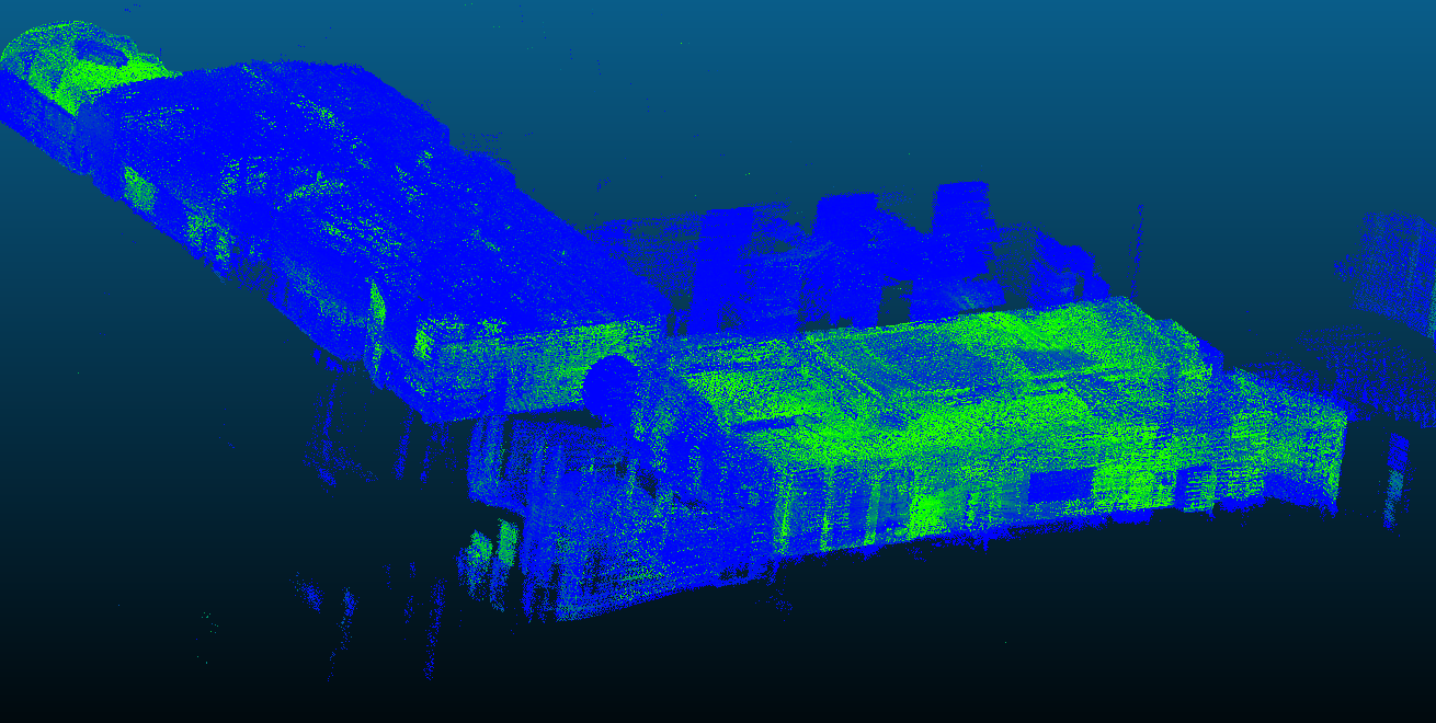 Actual 3D pointcloud creation · Issue #1515