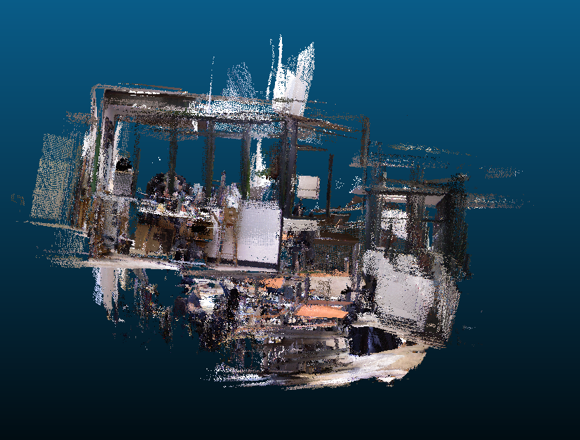 Bad pointcloud with Kinect & Windows stand-alone · Issue