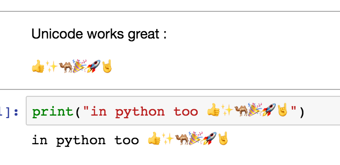 support for emoji? · Issue #2199 · jupyter/notebook · GitHub