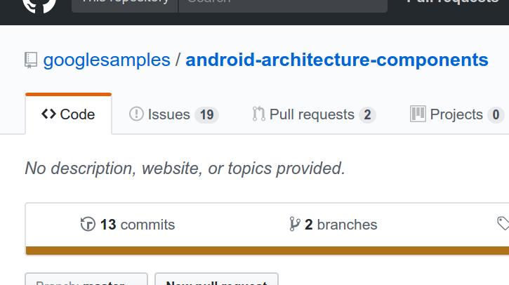 Please add repo description · Issue #62 · android