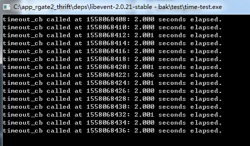 in windows, there is 12ms delay with libevent-master version
