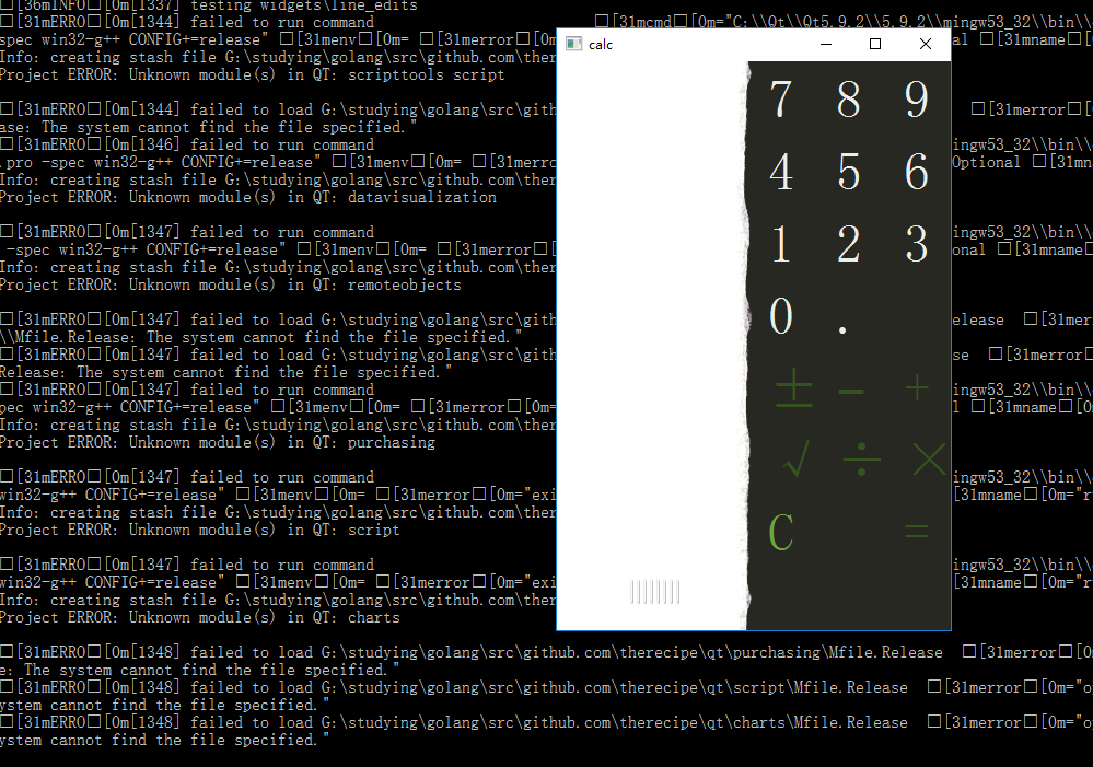 Fail setup on msys2 · Issue #483 · therecipe/qt · GitHub