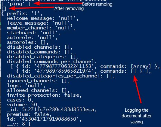 Nested array isn't saving · Issue #7414 · Automattic/mongoose · GitHub