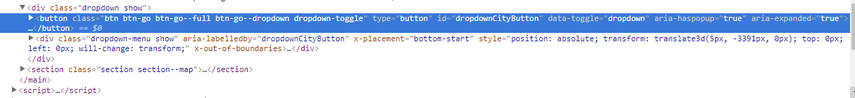 FIXED] Dropdown wrong position v4 · Issue #24053 · twbs/bootstrap