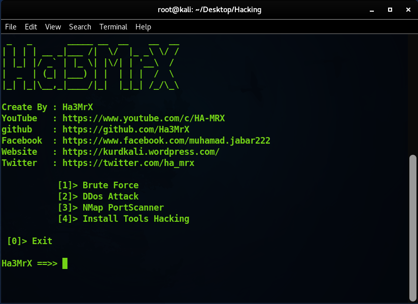 GitHub - Ha3MrX/Hacking: Ha3Mrx Pentesting and Security Hacking