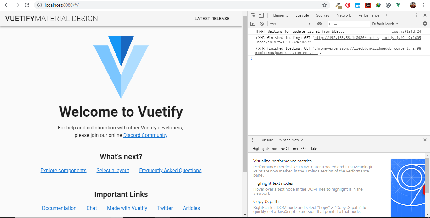 Adding vuetify to cli project doesn't work out of the box