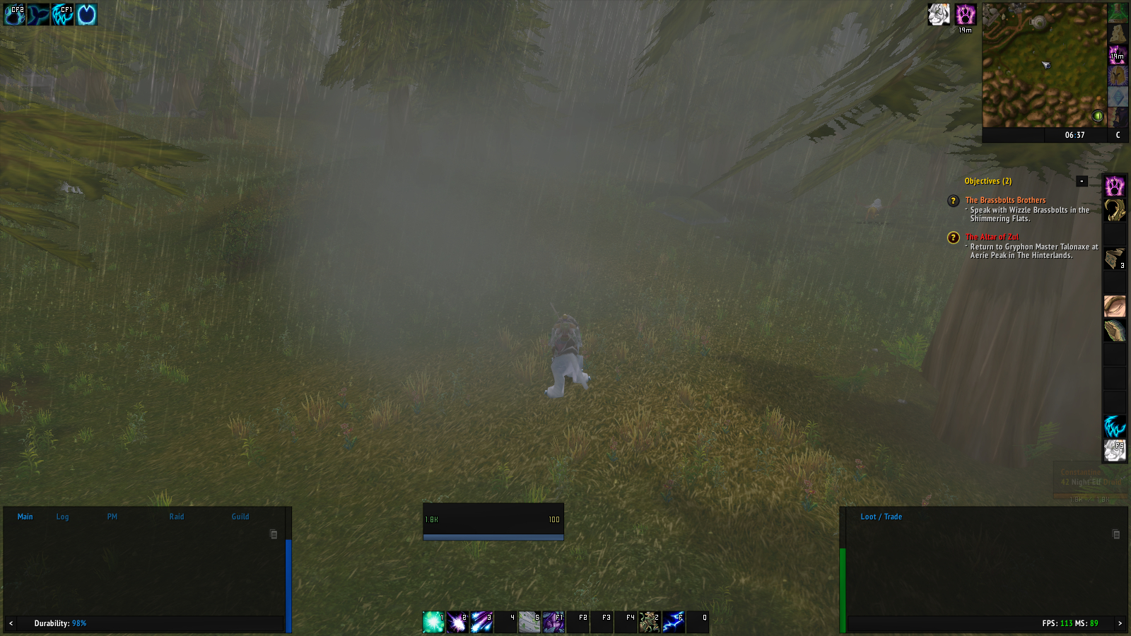 Map bug and druid unit frame bug · Issue #484 · ElvUI-WotLK