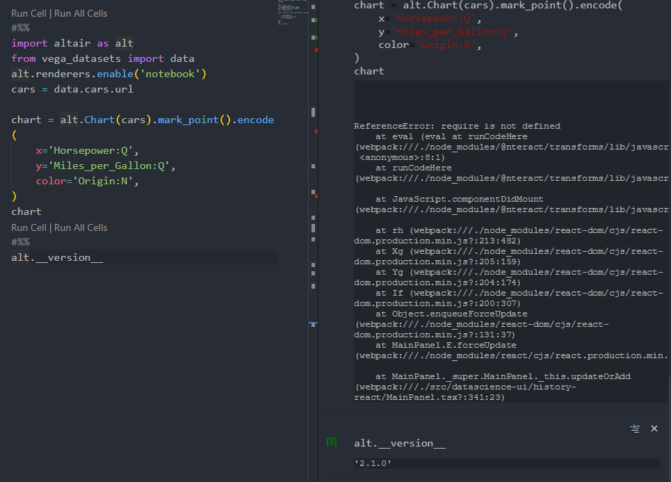 plots not rendering in vscode with python extension · Issue #1304