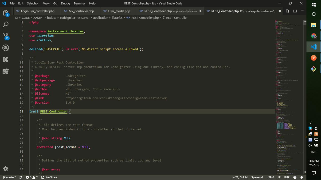 Codeigniter Restful Api Download