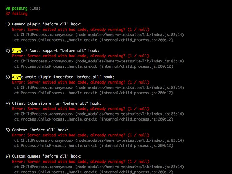 async/await callback function · Issue #166 · hemerajs/hemera