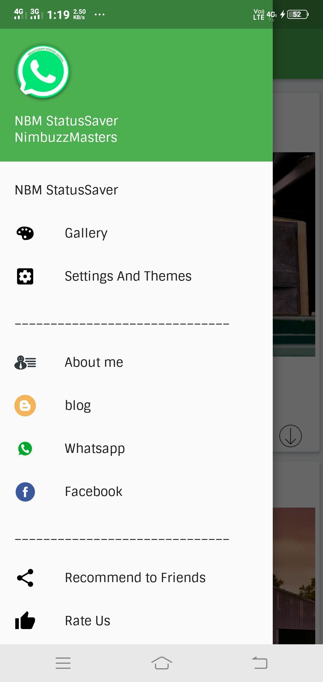 Github Shajahanubaidwhatsapp Status Saver Source Code