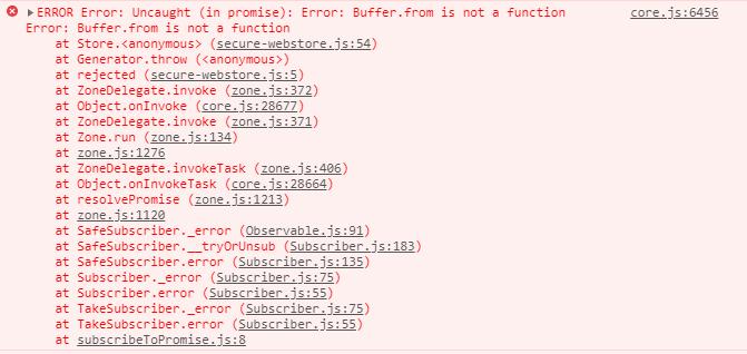 error buffer from console2