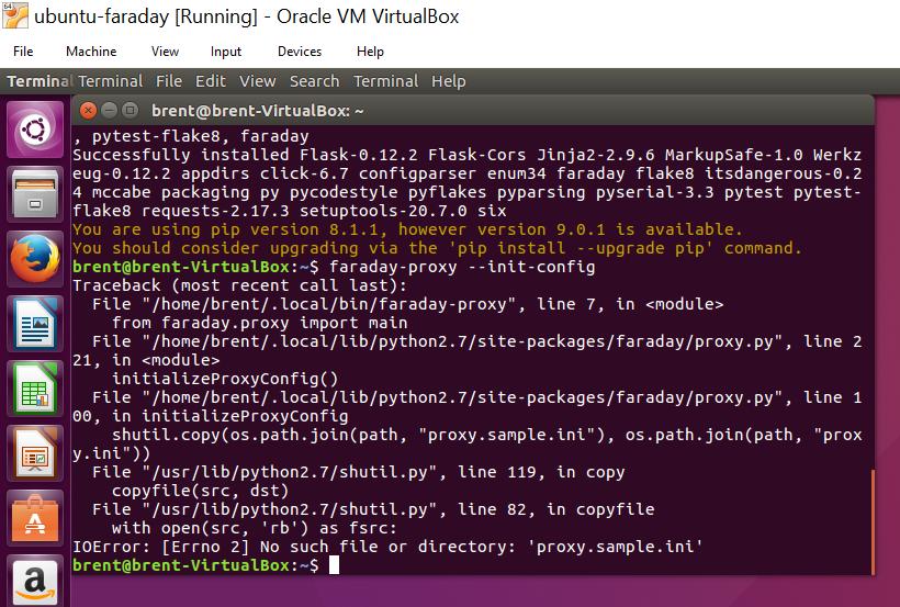 Pip Install Issue - Version RPi · Issue #241 · FaradayRF/Faraday