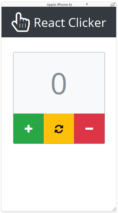 GitHub - drminnaar/react-clicker: A basic React app that