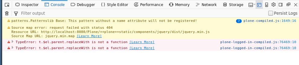 Folder contents tree navigation broken in Plone 5 1 2