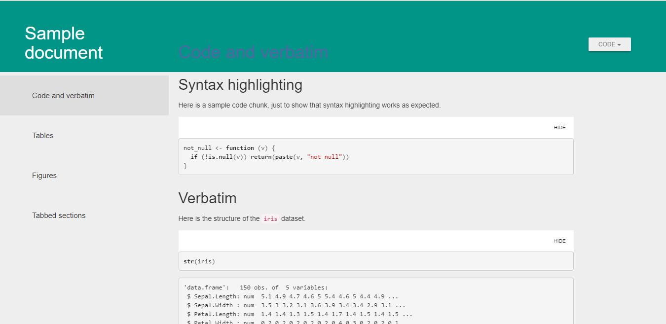 material design error · Issue #41 · juba/rmdformats · GitHub