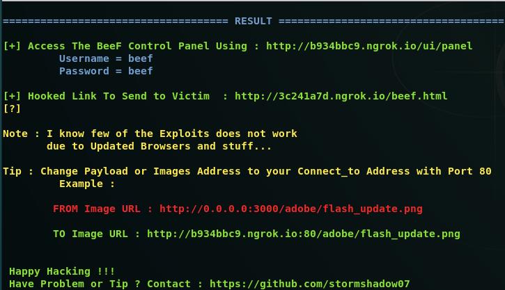 GitHub - stormshadow07/BeeF-Over-Wan: Browser Exploitation