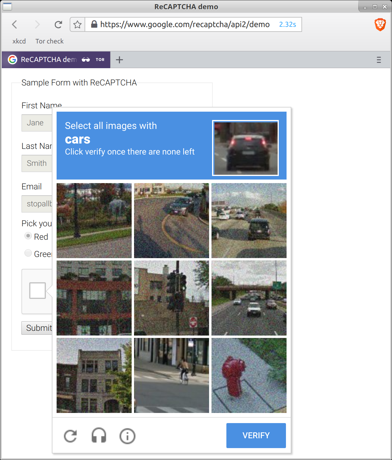 reCAPTCHA is sometimes broken · Issue #14256 · brave/browser