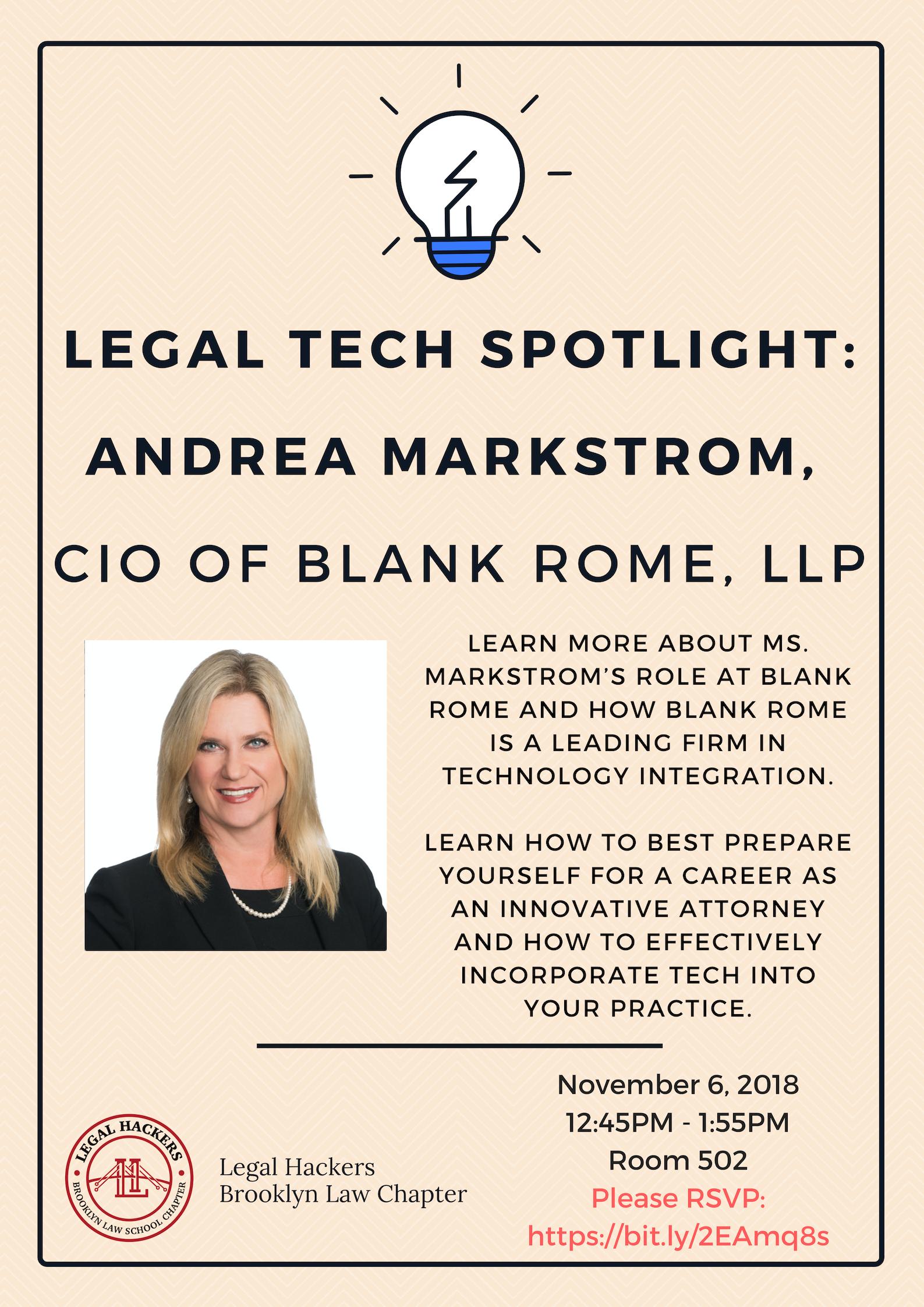 legal tech spotlight 11 6