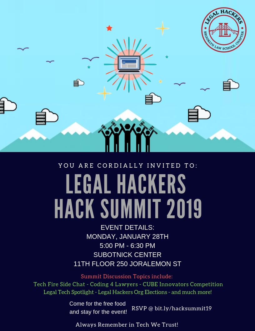 hack summit 19 flyer