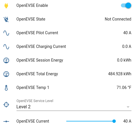 OpenEVSE Home Assistant Integration - OpenEVSE - Community