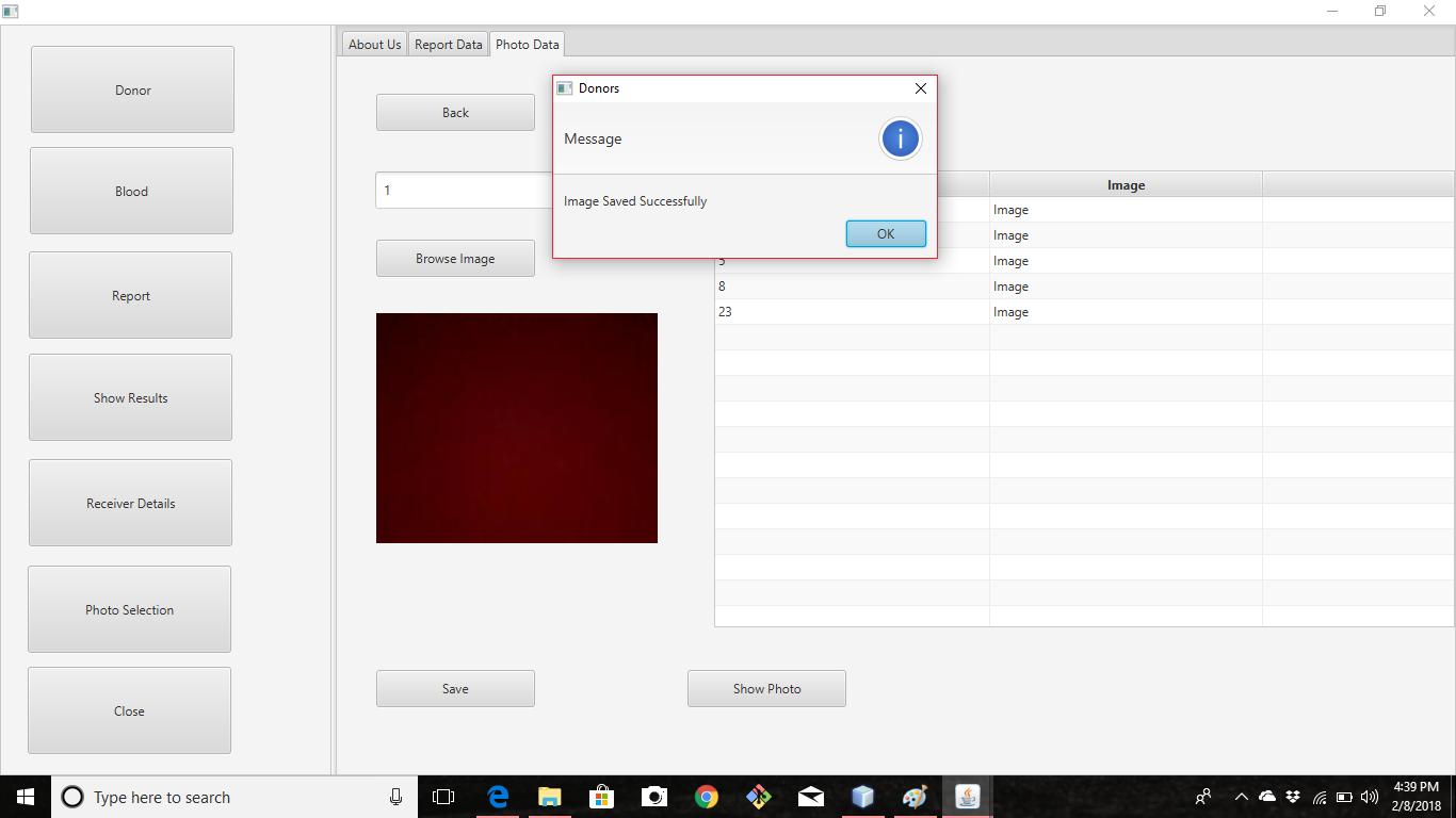 screenshot_report_image_saving in database