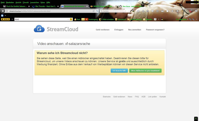 still not working on streamcloud eu · Issue #3770 · reek