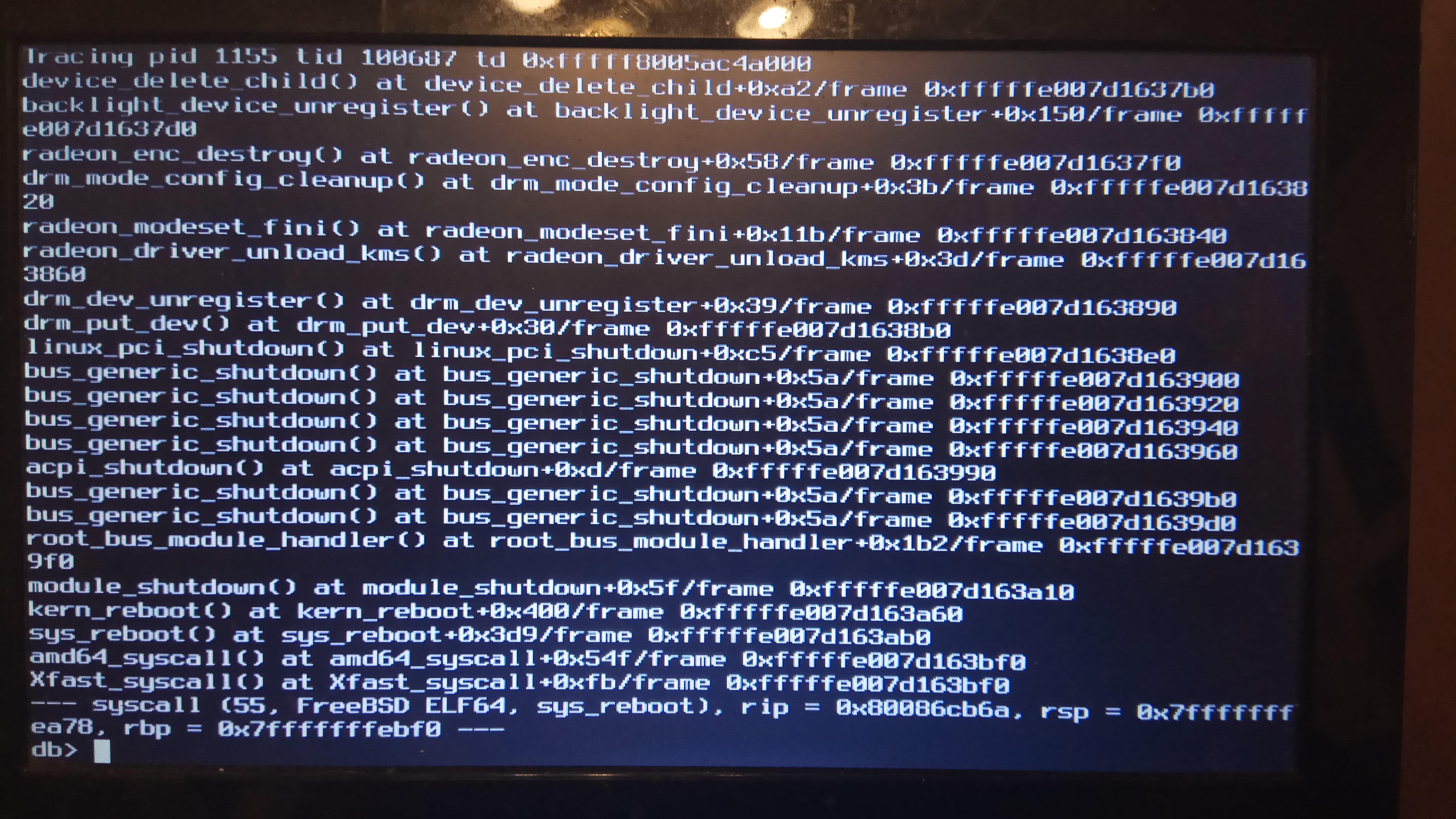 graphics/drm-next-kmod: /boot/modules/radeonkms ko can not