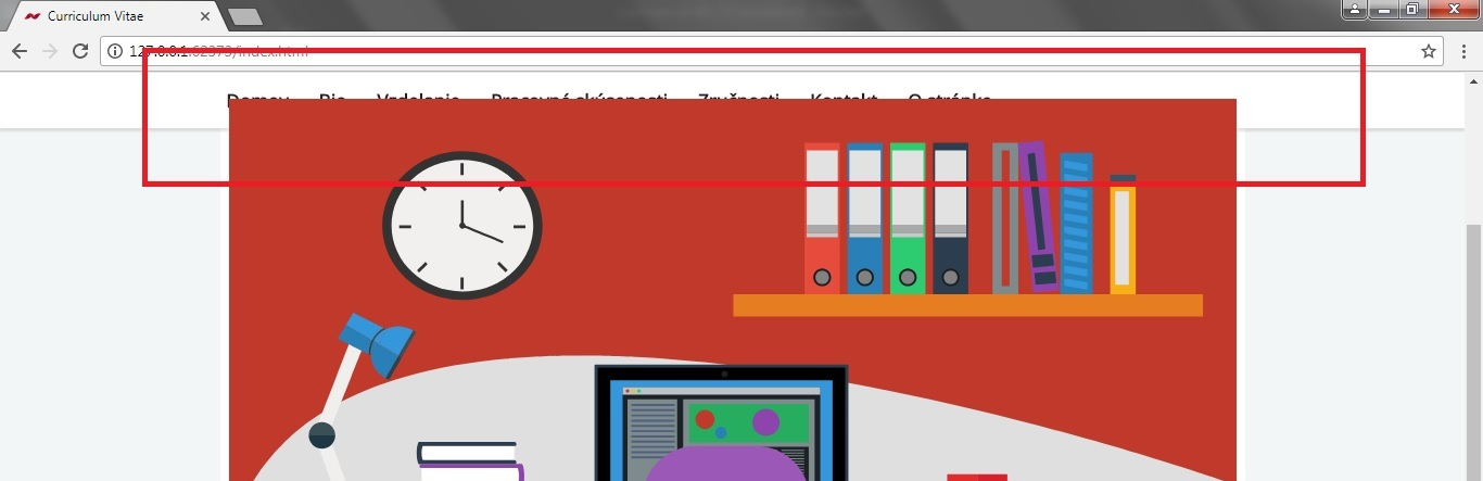 Animation is overlapping the sticky navigation · Issue #996