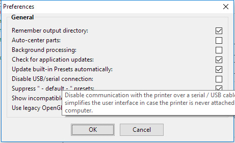 No Serial/USB facility · Issue #2046 · prusa3d/PrusaSlicer