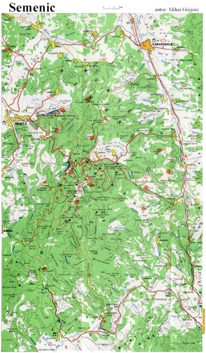 Harta Semenic