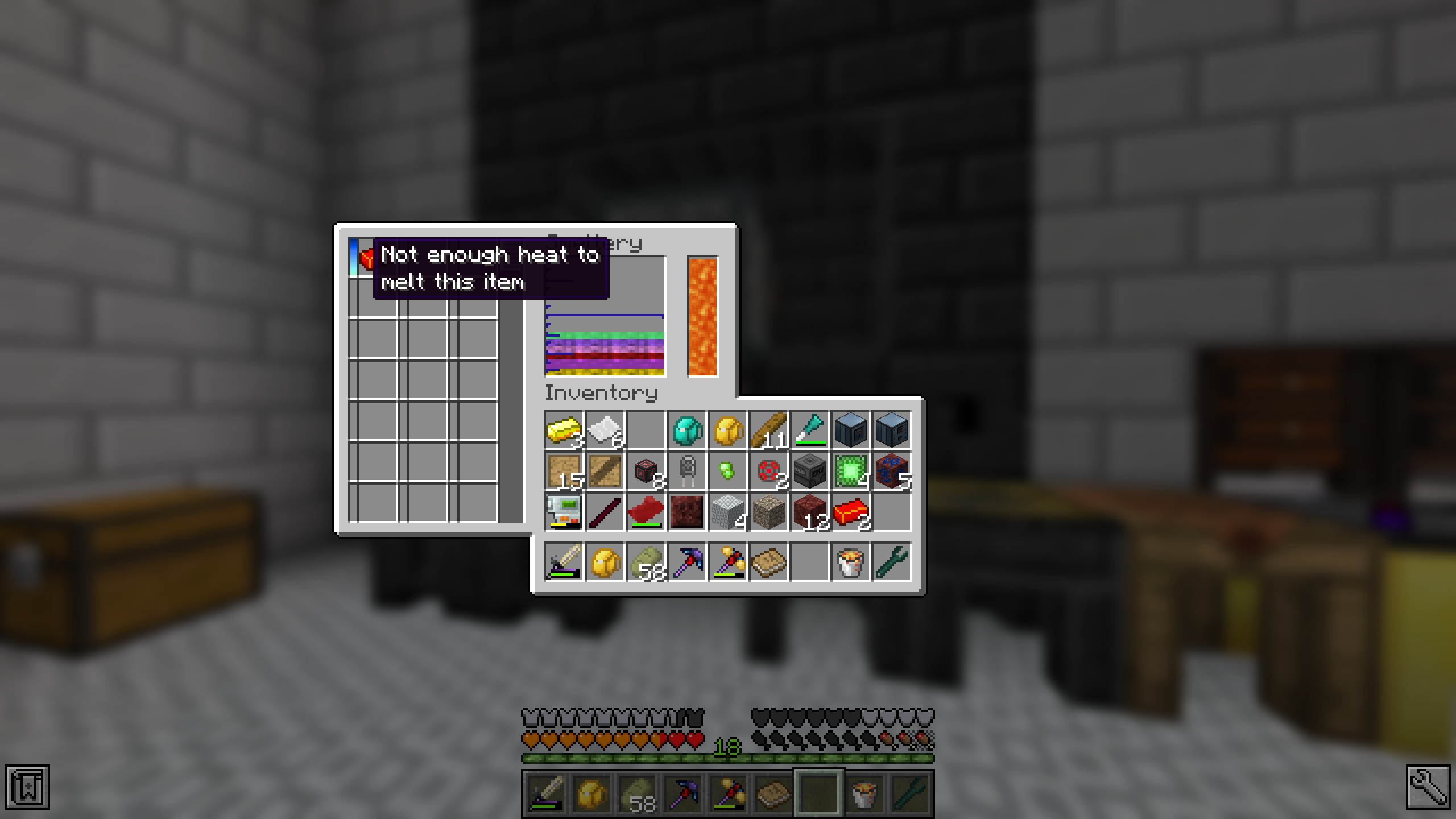 Cannot melt Demon Ingots in the Tinkers' Construct smeltery