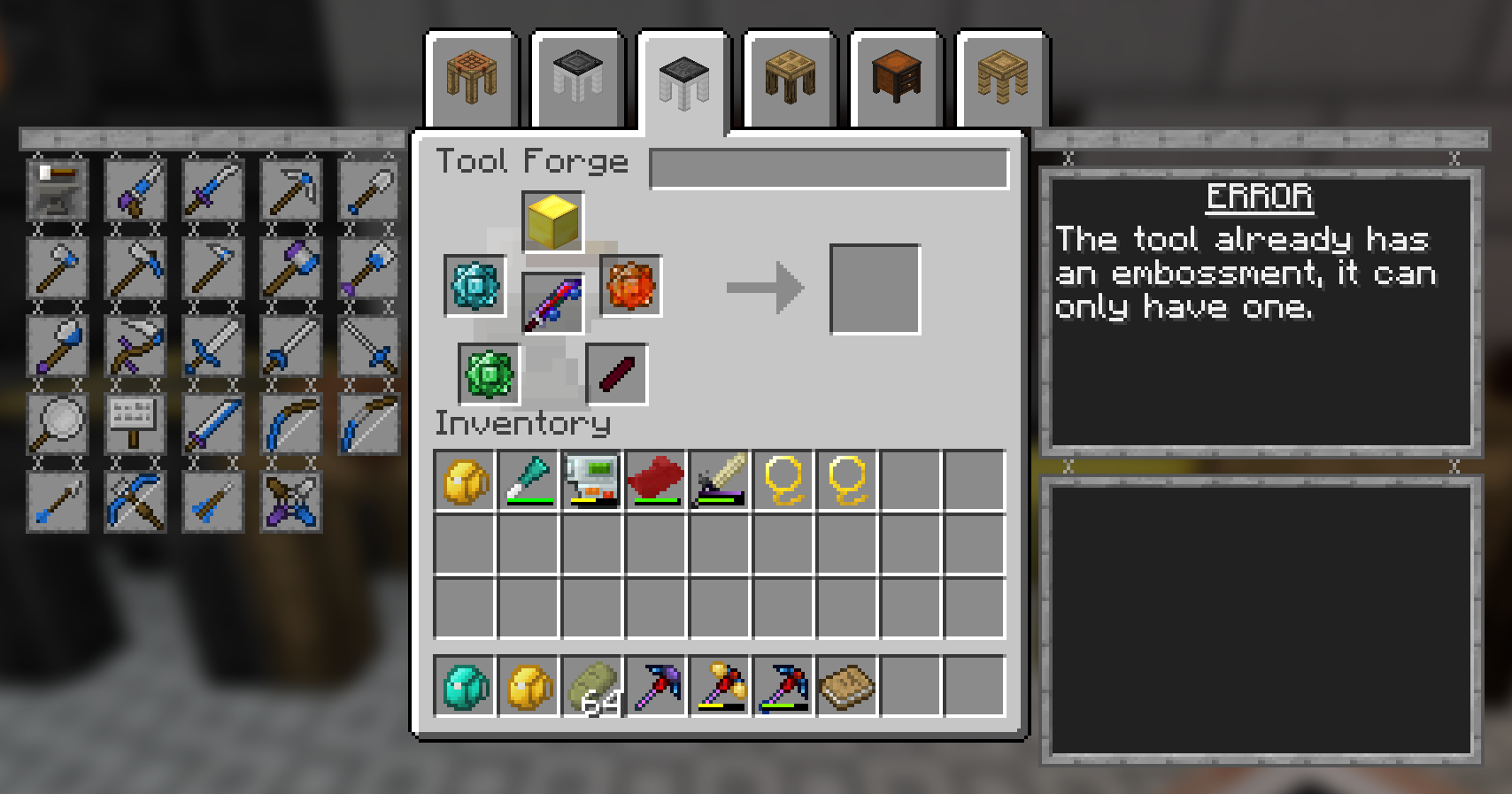 tinkers tool forge