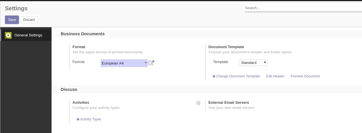 Print Templates Header And Footer In Odoo CE Issue Odoo - Invoice header template