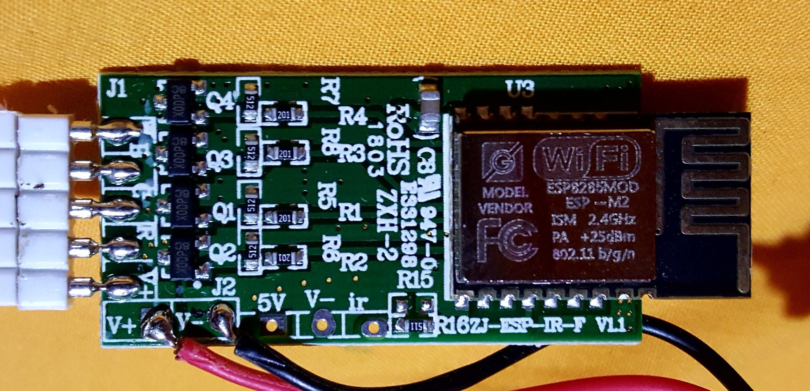 Developers - MagicHome LED (ESP-IR-B-v2 3 / ESP8285MOD ESP-M2) not