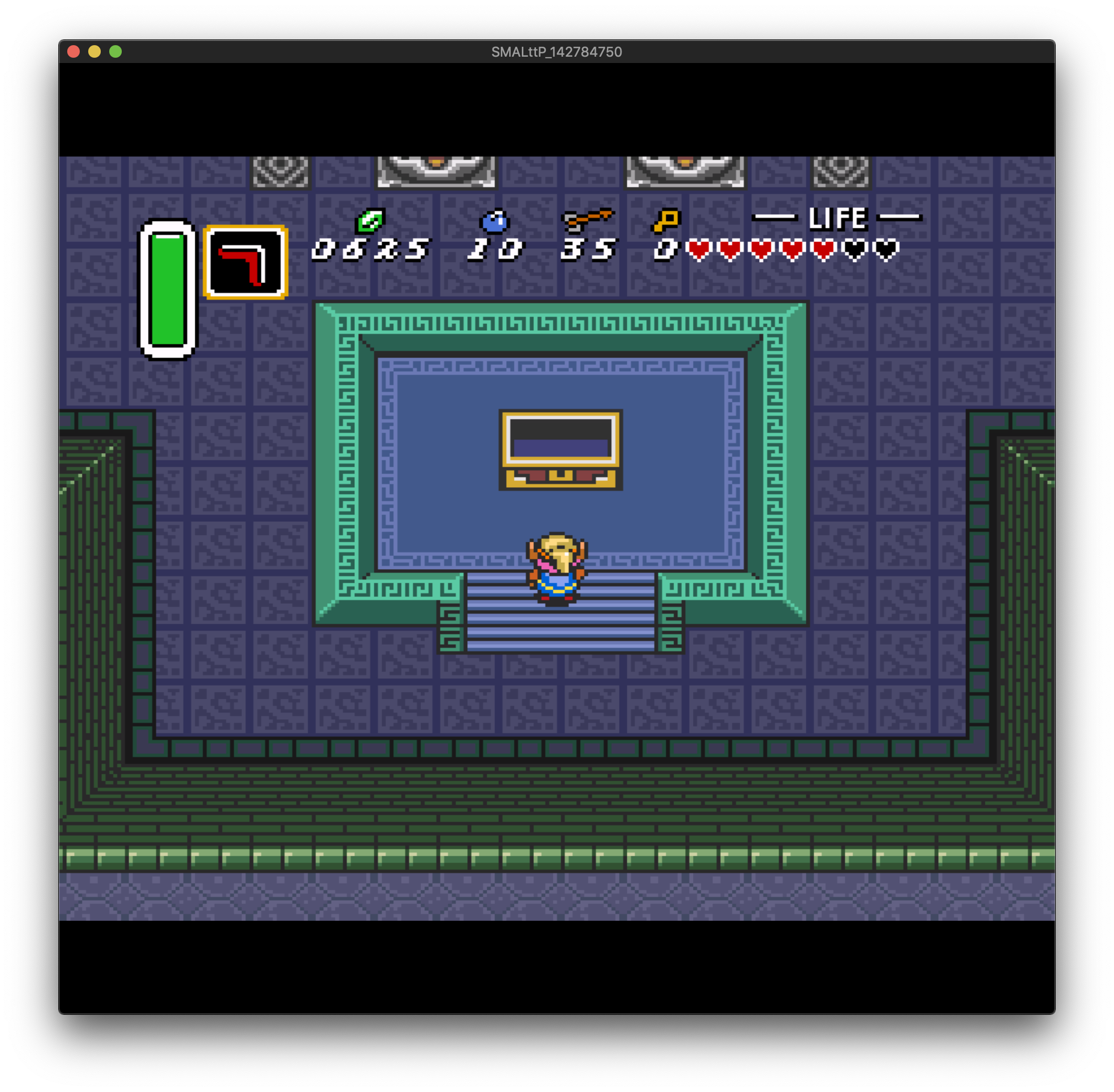 Screw attack acquired in LttP missing in SM · Issue #105 · tewtal
