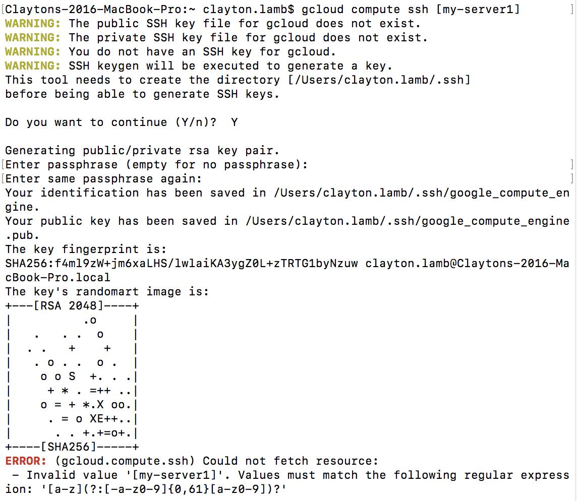 gce_ssh_setup: acquiring SSH key info for many VMs · Issue
