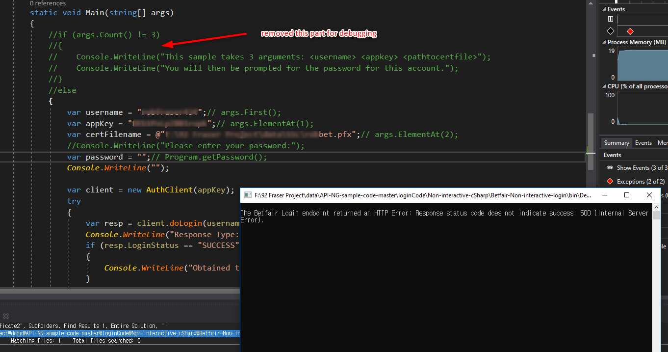 Noninteractive login sample not work · Issue #33 · betfair