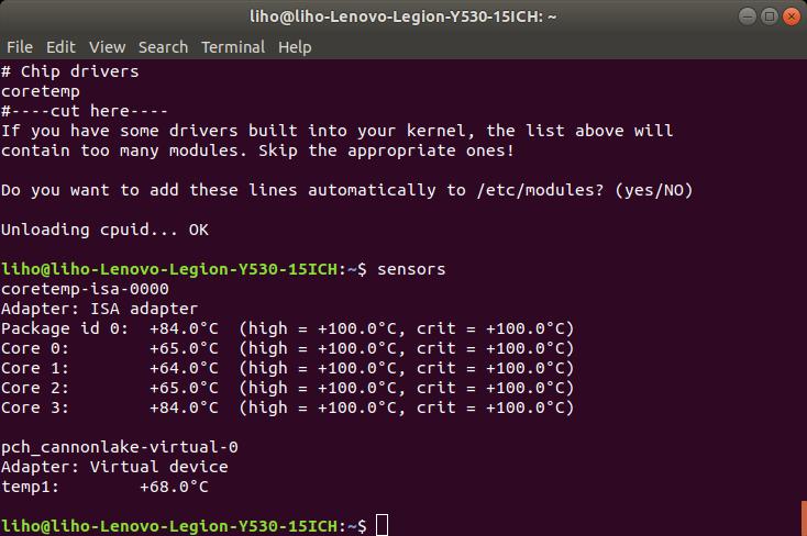 Fan not working in linux ubuntu 18 04 2 LTS · Issue #58 · kfechter