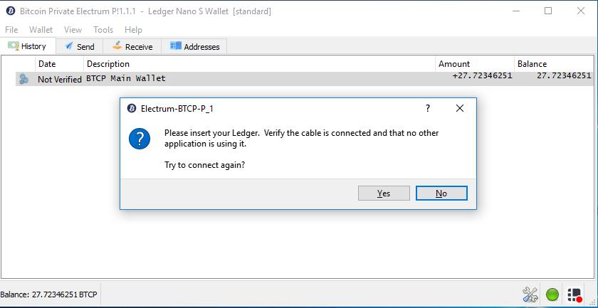Btcp Electrum Screen Capture