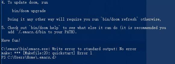install emacs-snippets error · Issue #812 · hlissner/doom