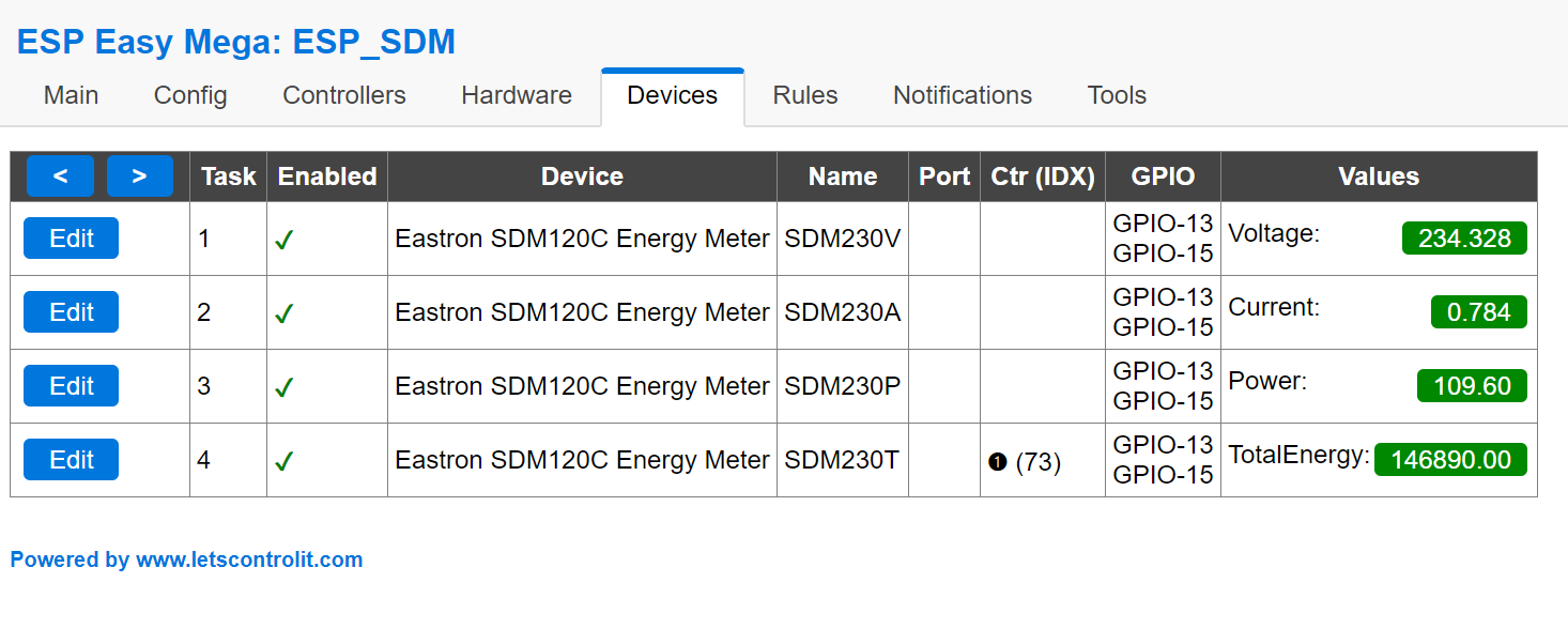 Feature request - Energy meter SDM120, 220, 630 · Issue #205