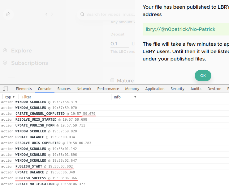 lbry fast publish